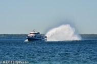 Cool hydro-jet ferry
