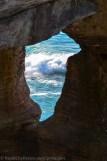 Pictured Rocks - Chapel Rock-keyhole-2
