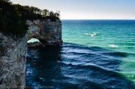 Pictured Rocks Lakeshore-arch2-1