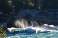 Pictured Rocks Lakeshore-spray-2