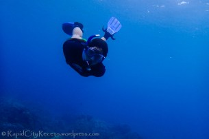 me snorkeling Maui