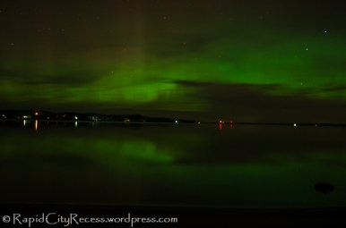 northern lights over Torch Lake-11