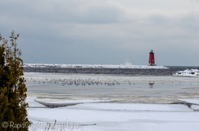 Manistique Lighthouse from the west