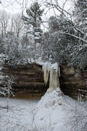 Munising Falls from the side