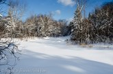 Frozen Sturgeon River