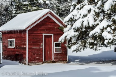 Stone Gate Farm - Red Shed-1
