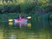 Jackson paddling
