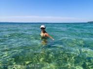 me swimming