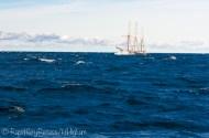 tallship on rough water-2