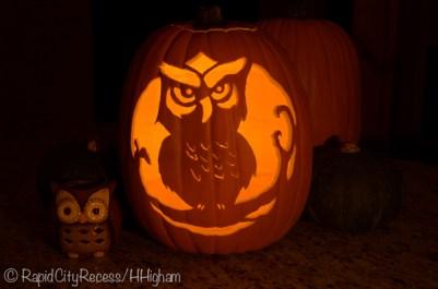 owloween pumpkin