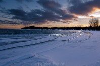 Haserot Beach sunset