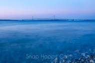 Mackinac Bridge - last light