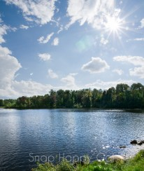 sunny Rugg Pond