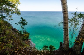 Pictured Rocks - clear water, south wind