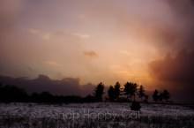 Lake effect sunset-2