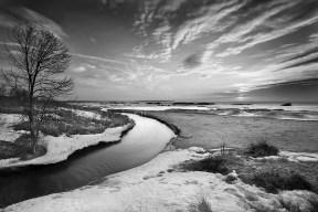 Otter Creek - B&W