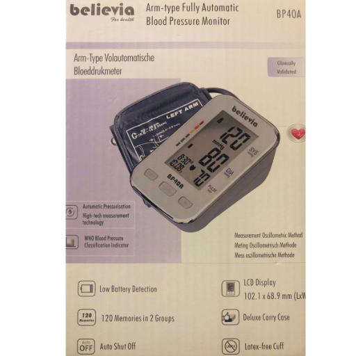 Believia Blood Pressure Monitor