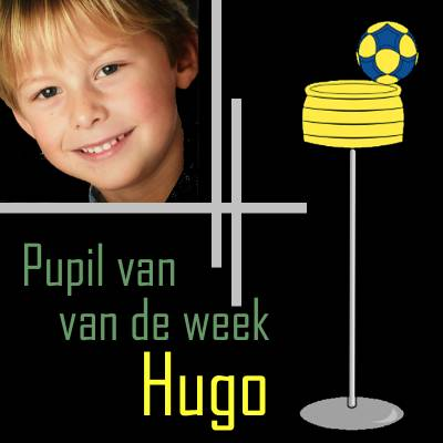 Pupil van de week: Hugo