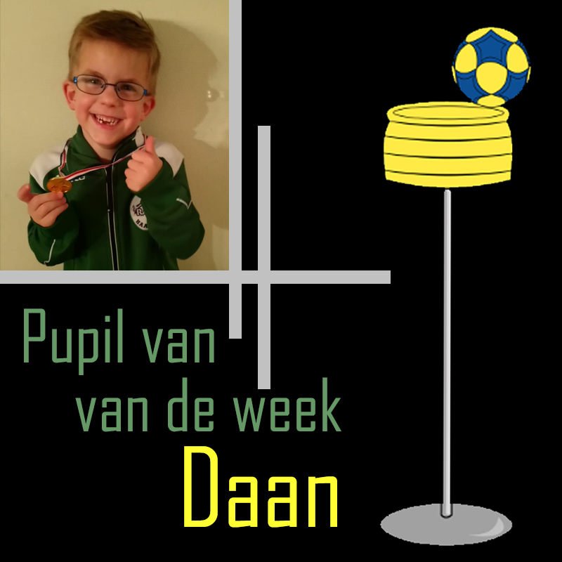 Pupil van de week: Daan
