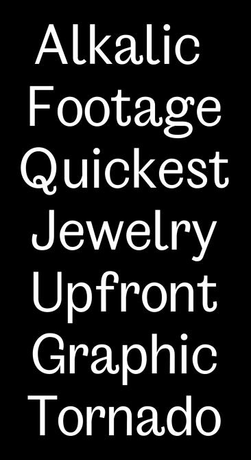 Anatomia typeface