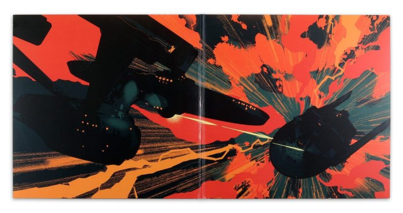 Wrath of Khan on vinyl - gate