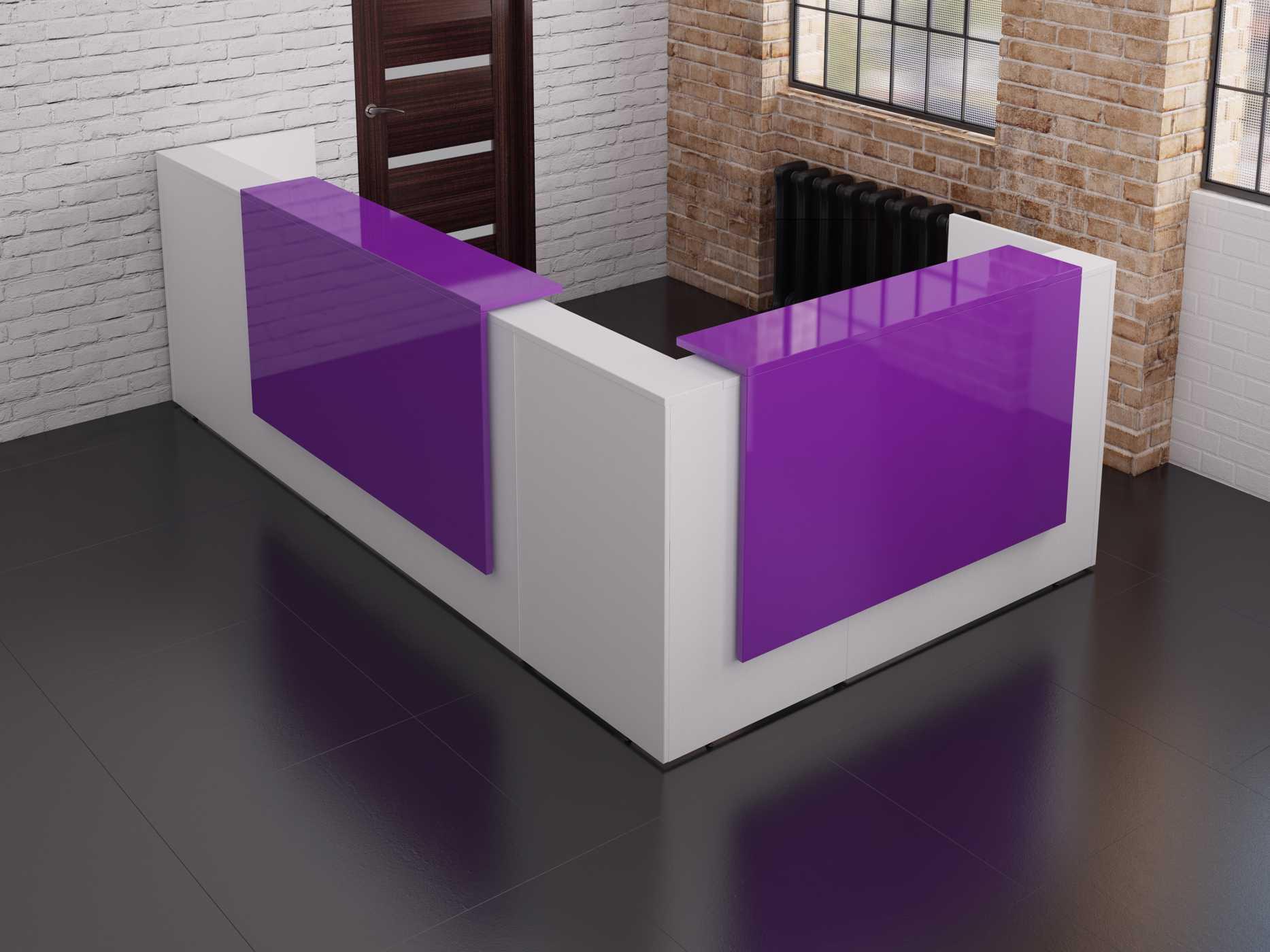 Tcs Zion Corner Reception Desk Rapid Office Furniture