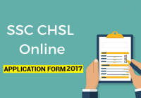 latest ssc chsl application form
