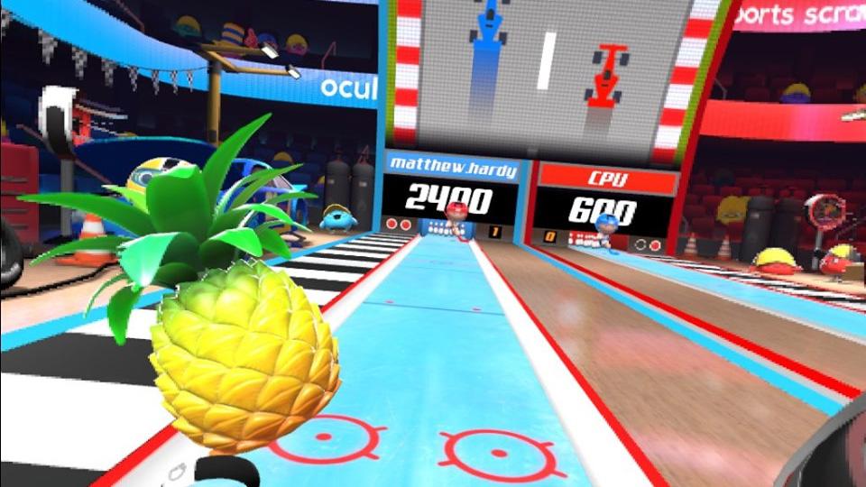sports scramble pineapple