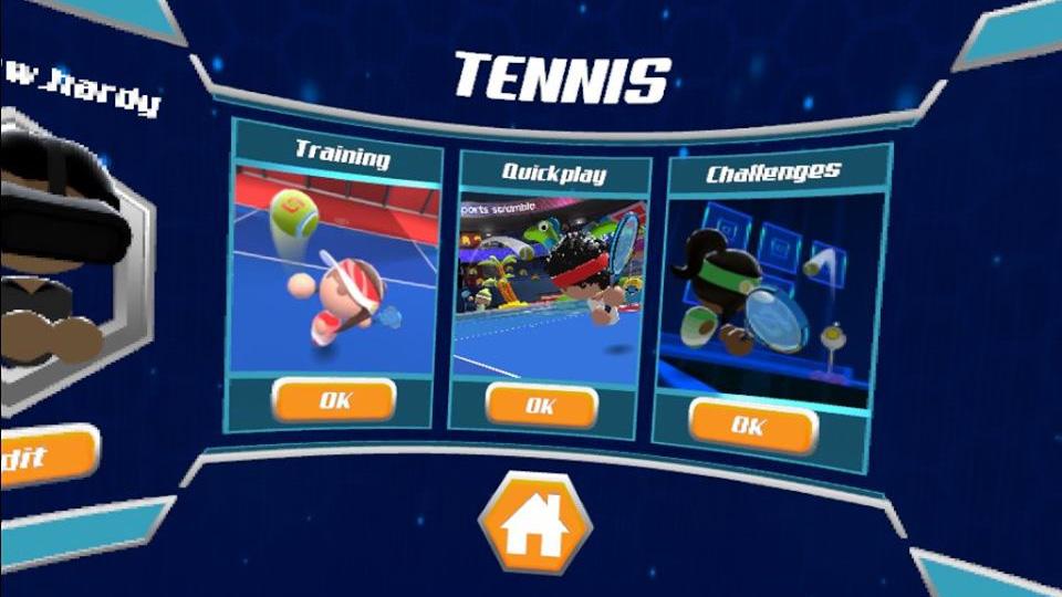 sports scramble tennis