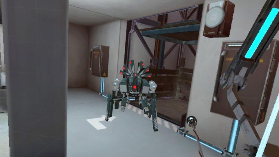 Apex Construct robot spider oculus quest