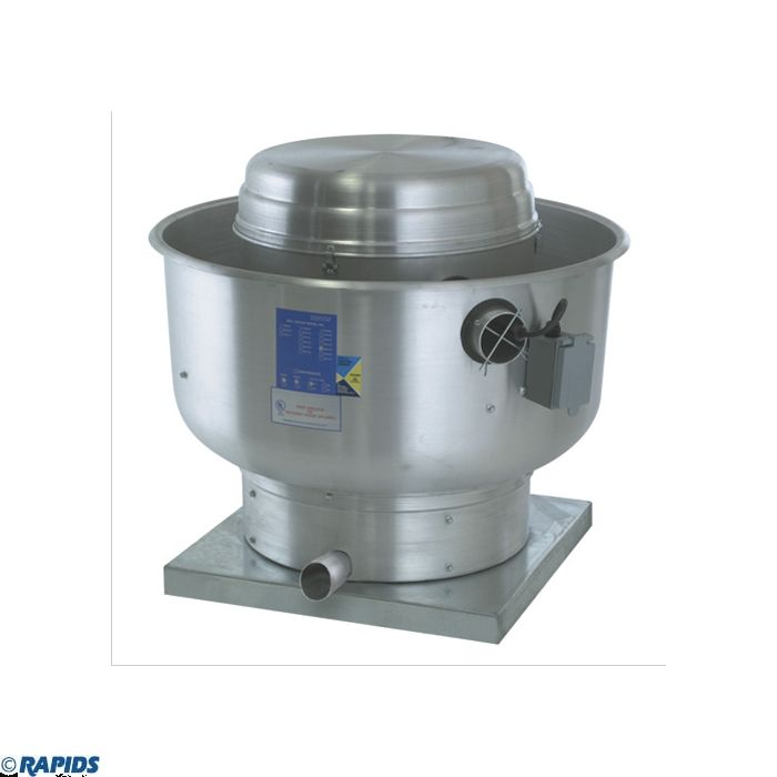 econ air centrifugal upblast belt drive exhaust fan 3000 4200 cfm