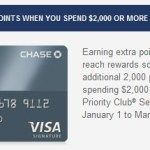 The lamest credit card additional spend offer I've received
