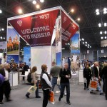2 guesses which country had the most domineering NYT Travel Show pavilion?
