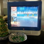 China Eastern's check-in counter info screens, will other airlines adopt?