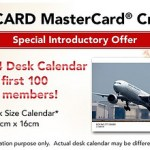 Still Time to Get Free Desk Calendar With JAL USA Credit Card