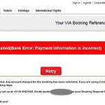 Booking India Domestic Air Tickets