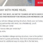 Delta Introduces Medallion-Based Earning With Hertz