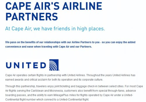 Cape Air United Partnership