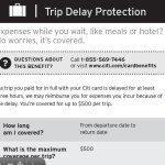 Citi $500 3-Hour Trip Delay Coverage Now Effective and Chase Partially Matches