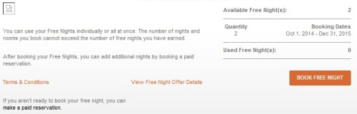 IHG Into the Nights Certs