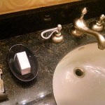 Novel Bathroom Amenity at Planet Hollywood, Las Vegas