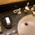 Novel Bathroom Amenity at Planet Hollywood, Las Vegas