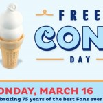 Dairy Queen Free Cone Day Today!