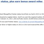 (Targeted) Restore United Elite Status and Bonus Miles Challenge
