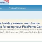 Check US Bank FlexPerks Promos for Holiday Spend Offers