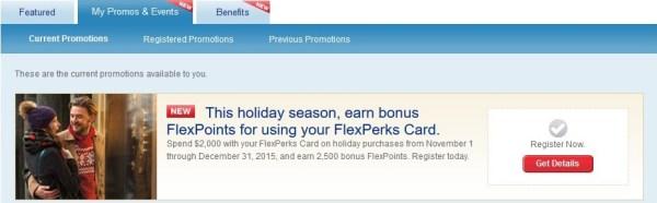 FlexPerks Holiday 2015