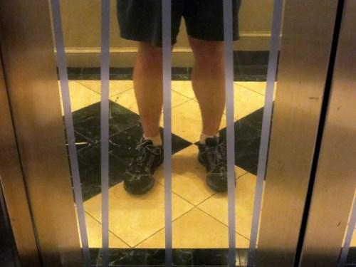 Park Hyatt Toronto Elevator Front Mirror