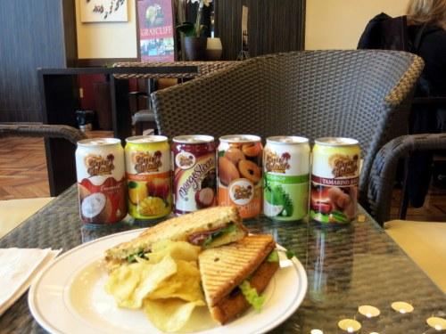 Nassau Graycliff Divans Airport Lounge Sandwich