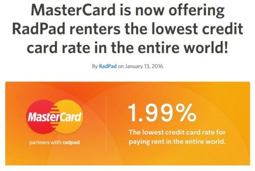 RadPad MasterCard