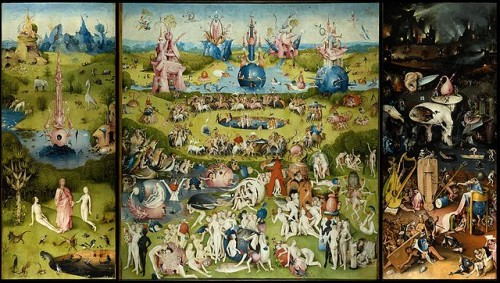 The Garden of Earthly Delights (source: Wikicommons, public domain)